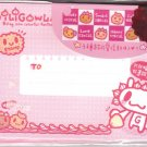 Taiwan Giligowla Rabbit Cookie Envelopes Pack (Pink) KAWAII