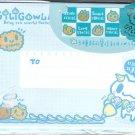 Taiwan Giligowla Rabbit Cookie Envelopes Pack (Blue) KAWAII