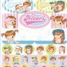 Japan Q-Lia Nicori Happy Girl Fashion Sticker KAWAII (E)