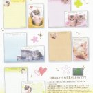JAPAN Kamio My Sweet Memories Kitten Lettersets KAWAII