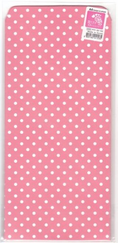 Korea Pink Polka Dots Envelopes Pack KAWAII