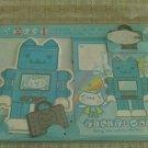 Taiwan Giligowla Robot Memosets Pack KAWAII