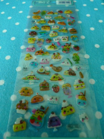 Japan Delicious Food Jelly Sticker KAWAII