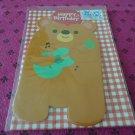 Taiwan Bear w/ Guitar Pull Birthday Card KAWAII