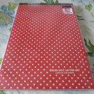Korea Polka Dots Large Letterpad KAWAII
