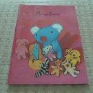 Korea Bear with Dolls Notebook KAWAII