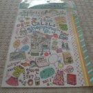 Korea Lalala Shopping Glittery Sticker KAWAII