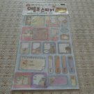 Korea Glittery Nametag Sticker KAWAII