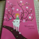 Taiwan Wonderful Journey (Girl with Deer) Notebook KAWAII