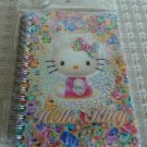 Japan Sanrio Hello Kitty Sparkly Jewelry Notebook KAWAII