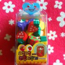 Korea Mini Fruit Erasers Box (Blue) KAWAII