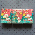 3x Japan Sanrio My Melody Happy Party Tissue Packs KAWAII