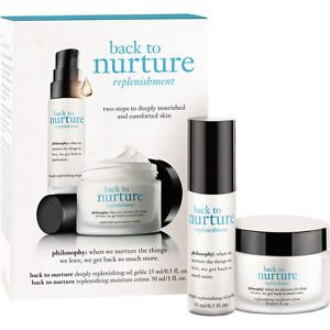Philosophy Back To Nurture Trial Kit (Gel & Creme) NEW IN BOX