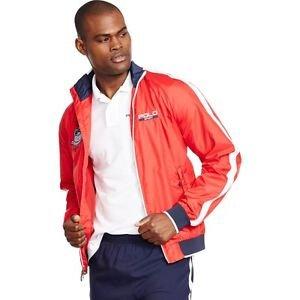 NWT Ralph Lauren Polo Sport USA Ripstop Jacket COLOR Regatta Red XL Orig. $165