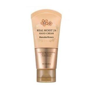 [Missha] Real Moist 24 Hand Cream Manuka Honey 70ml