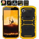 MFOX A10 Pro Military Standard Smartphone(YELLOW)