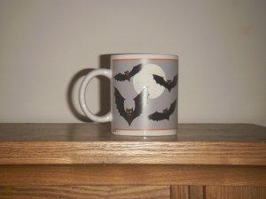 Halloween Bats Coffee Mug  1992