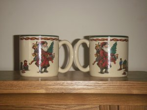 Kris Kringle Santa Claus Mugs