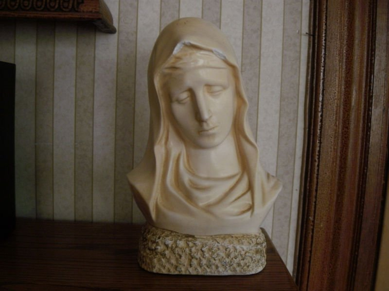 Vintage Virgin Mary Bust