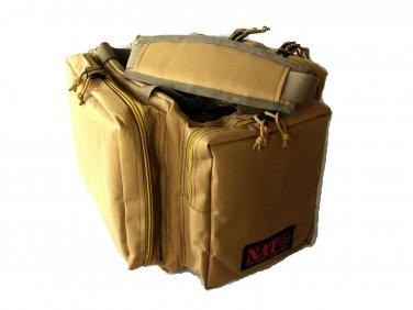 NATO® Tactical Survival� Gun Range Bag Khaki Tan