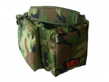 NATO® Tactical Survival� Gun Range Bag Military Camo