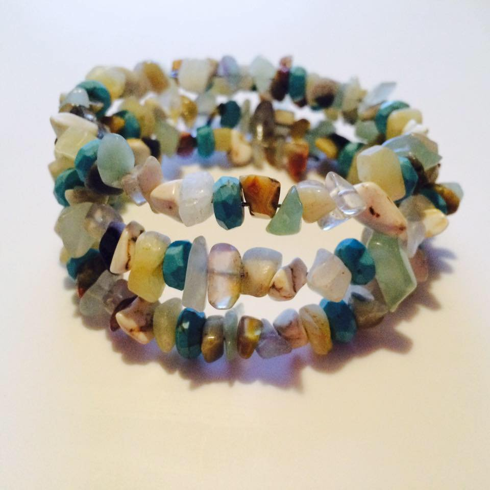 High Tide Bracelet with Turquoise Beads