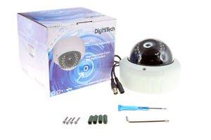 720p AHD Megapixel 2.8-12mm 30 IR LEDs Varifocal Vandalproof Dome Color Camera