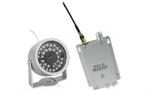 Wireless Camera with Receiver