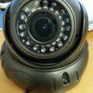 Used Outdoor 600 TVL Eyeball IR Varifocal Camera With It Sensor