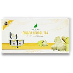 Ginger Herbal Tea 20 Sachets Box Set Tea For Winter