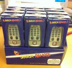 Shocking Shock TV Remote Control Whole Box (12 pcs) - NEW
