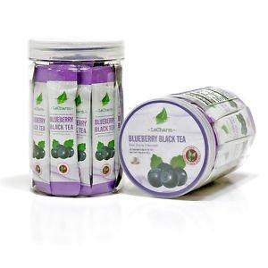 30 Sachets Blueberry Black Tea Extract Powder Anti Oxidation