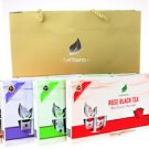 Variety Fruit & Flower Tea Extract Gift Box Set Included a Gift Bag