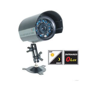 PROFESSIONAL HIGH RESOLUTION COLOR NIGHT VISION OUTDOOR CAMERA