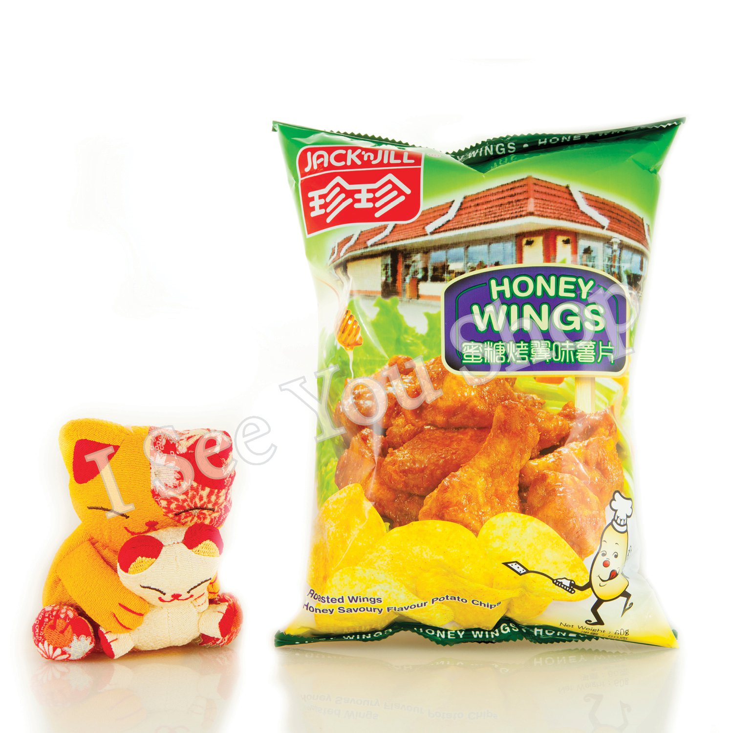 �����翼��� 60g Jack'n Jill Rosted Wings Honey Savoury Flavor Potato Chips 60g