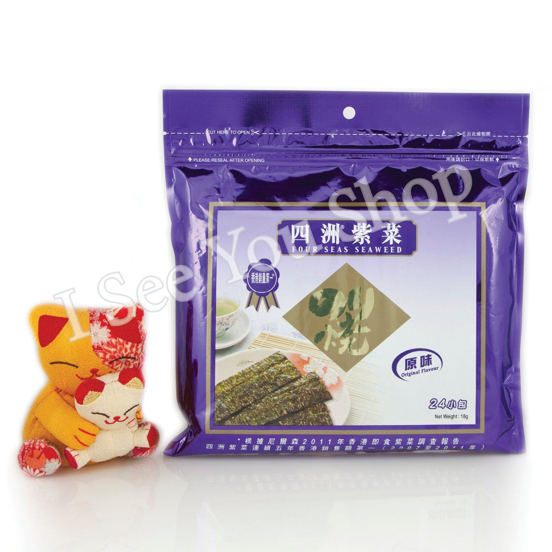 �洲紫�(��) Four Seas Seaweed Original Flavor 18g