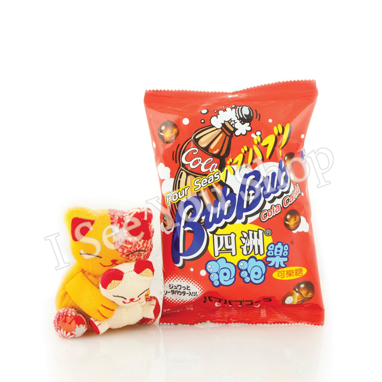 �洲泡泡�(���) Four Seas Bub Bub Cola Candy 80g
