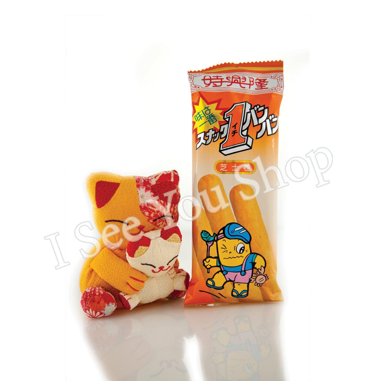 ����士� Sze Hing Loong Cheese Flavor Corn Roll 15g
