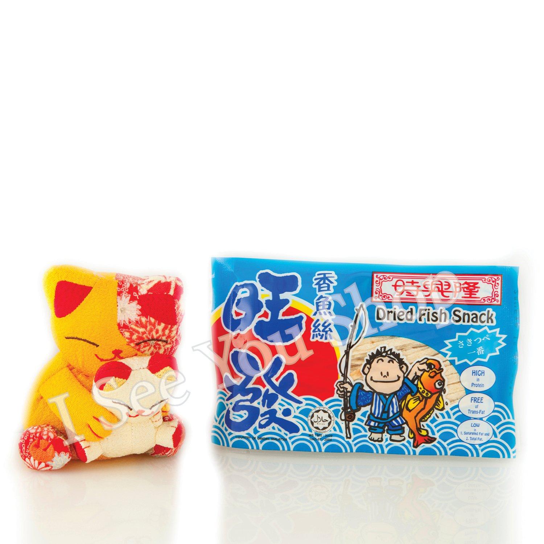 ��� �� ��絲 8g Sze Hing Loong Wanfa Dried Fish Snack 8g