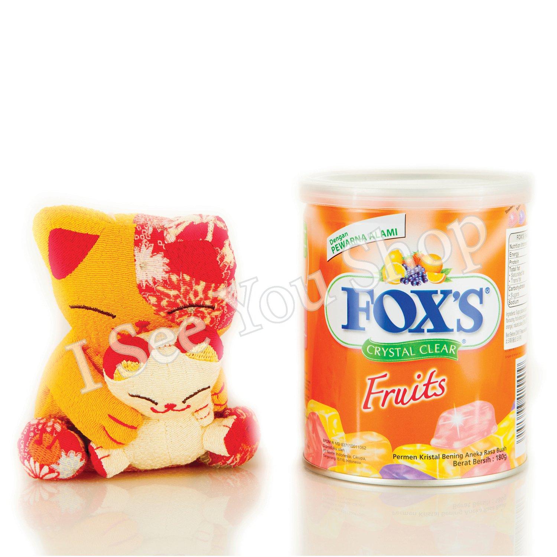 �士 ���水�� Fox's Crystal Clear Candy 180g