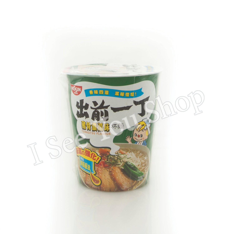���� 豬骨�湯��麵 Nissin Tonkotsu Flavor Cup Noodles 75g