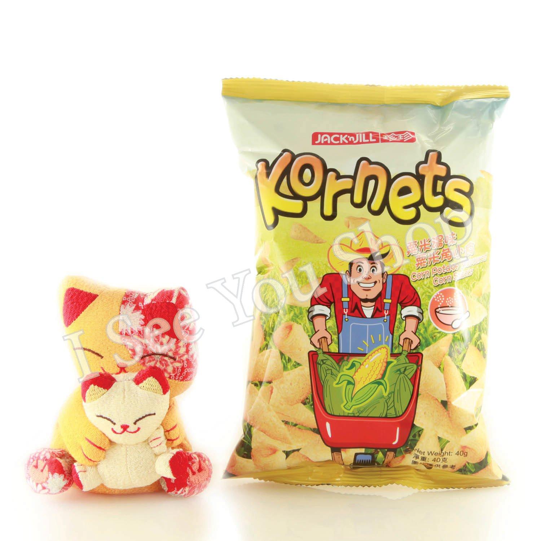 ���米湯�米���  Jack'n Jill Corn Potage Flavored Corn Snacks