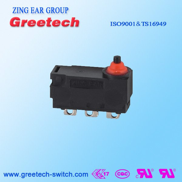 Waterproof Subminiature Micro Switch