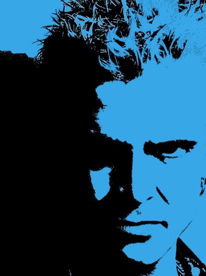 Billy Idol Acrylic Pop Art