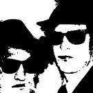 The Blues Brothers Acylic Pop Art Painting