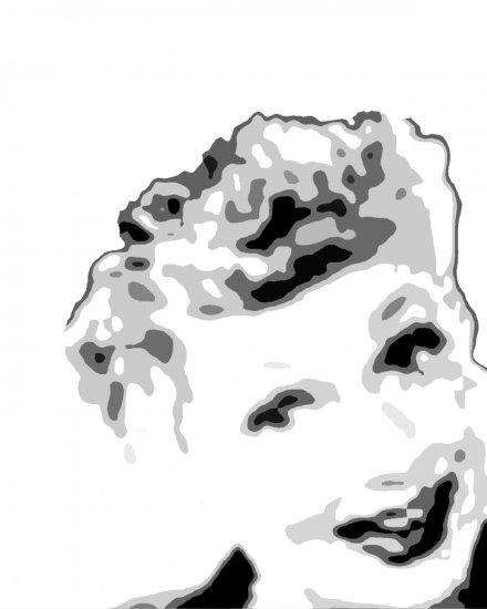 Lucille Ball Acylic Pop Art Painting