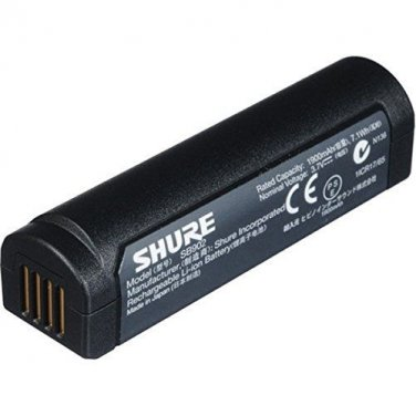 Shure SB902 Rechareable Battery For GLX-D Wireless Systems SB 902