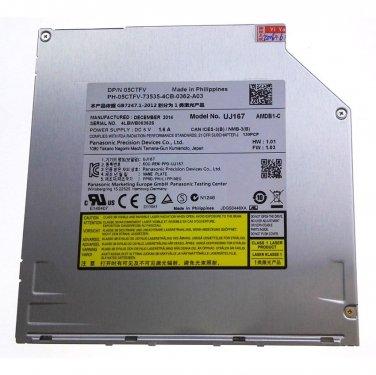 9.5mm SATA UJ167 blu-ray player BD-ROM slot-in load drive Apple Macbook Pro Dell