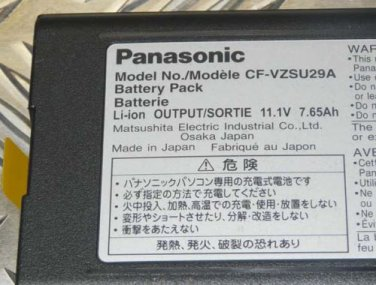 Genuine Battery Panasonic CF-VZSU29A for CF-29 Cf-51 or CF-52