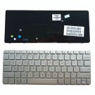 For HP Mini 210-2000 210-2100 210-2200 US Keyboard 30 Pins Silver Components